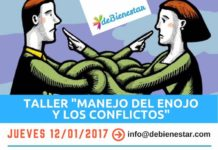 Taller manejo del enojo y los conflictos