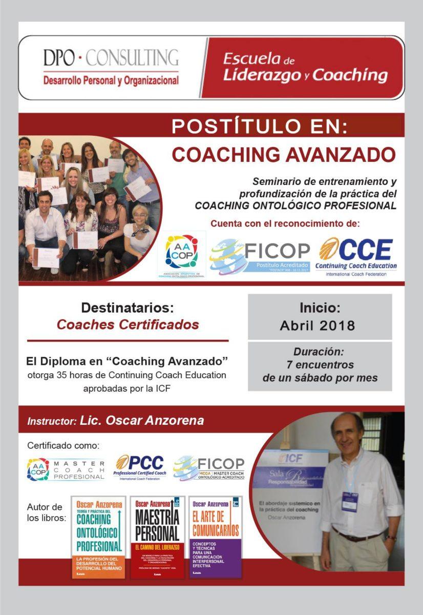 postítulos para coaches