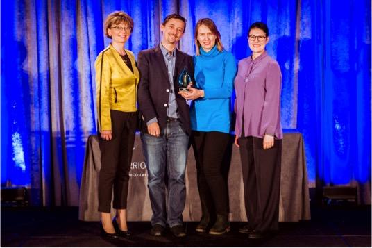 ICF Ecuador recibió el premio Chapter Recognition 2017