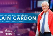 Alain Cardon en Argentina