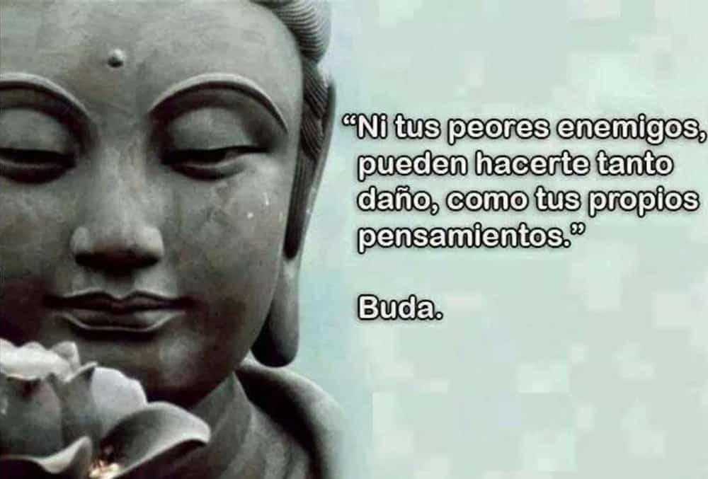 Pensamientos Negativos Buda