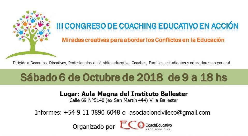 Tercer Congreso de Coaching Educativo en Acción