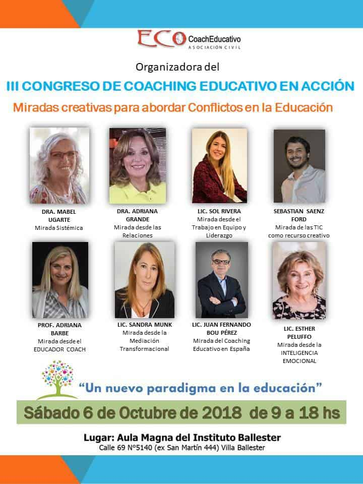 III Congreso de Coaching Educativo en Acción