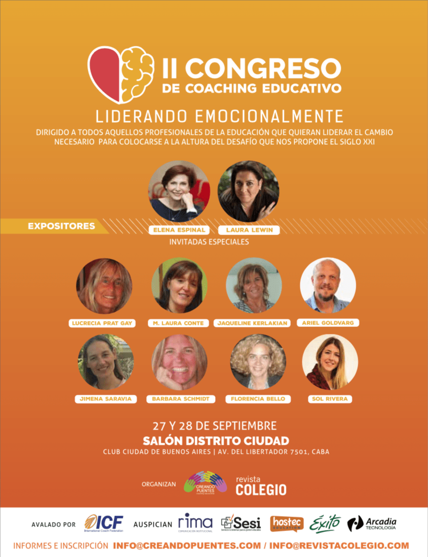 Laura Lewin en el II Congreso de Coaching Educativo