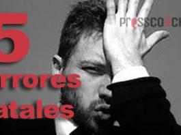 5 errores fatales de los coaches
